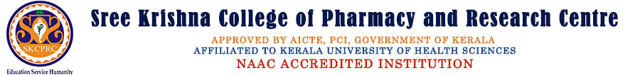 Sree Krishna College of Pharmacy & Research Centre